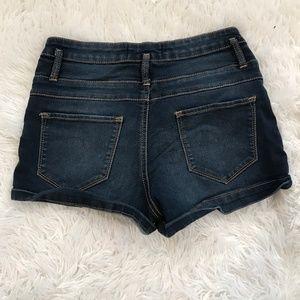 No Boundaries Shorts - High Wasted Jean Shorts